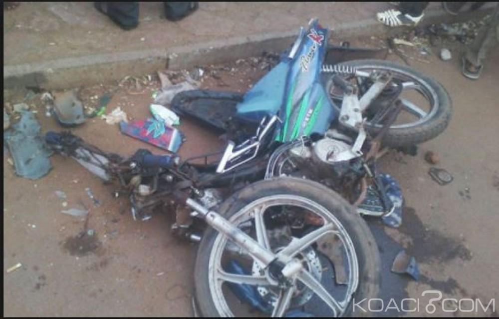 Côte d'Ivoire: Trois morts dans une collision entre deux taxi-motos à l'ouest