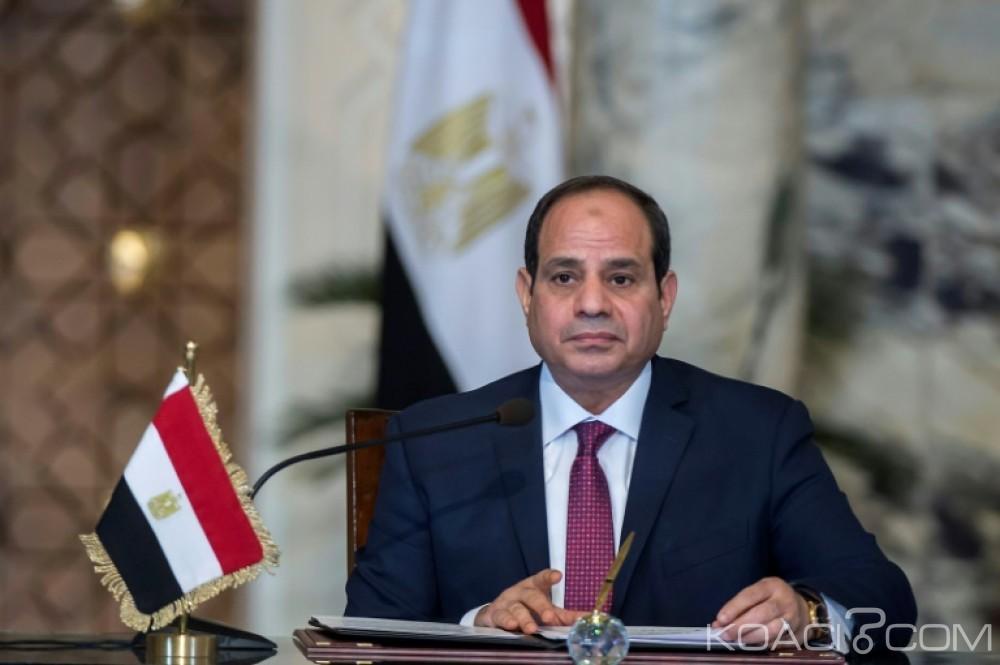 Egypte: Présidentielle, victoire sans surprise d'Abdel Fattah Al Sissi avec 97,02 % des voix