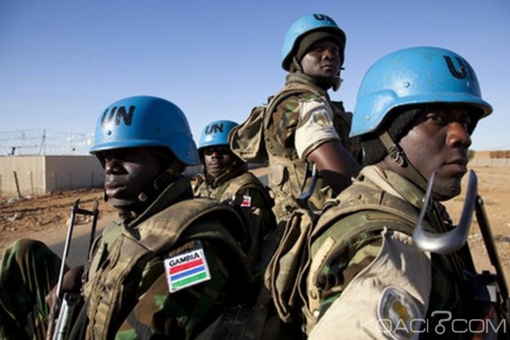 Gambie: Le salaire des casques bleus passe du Dollar en Dalasi
