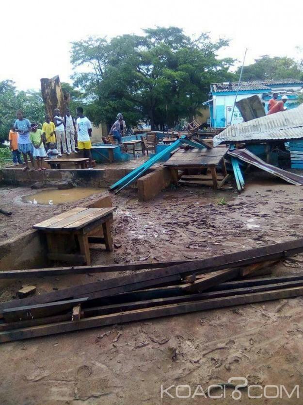 Côte d'Ivoire:  Biankouma, une estimation de 06 millions pour réhabiliter les écoles publiques frappées par le tonnerre