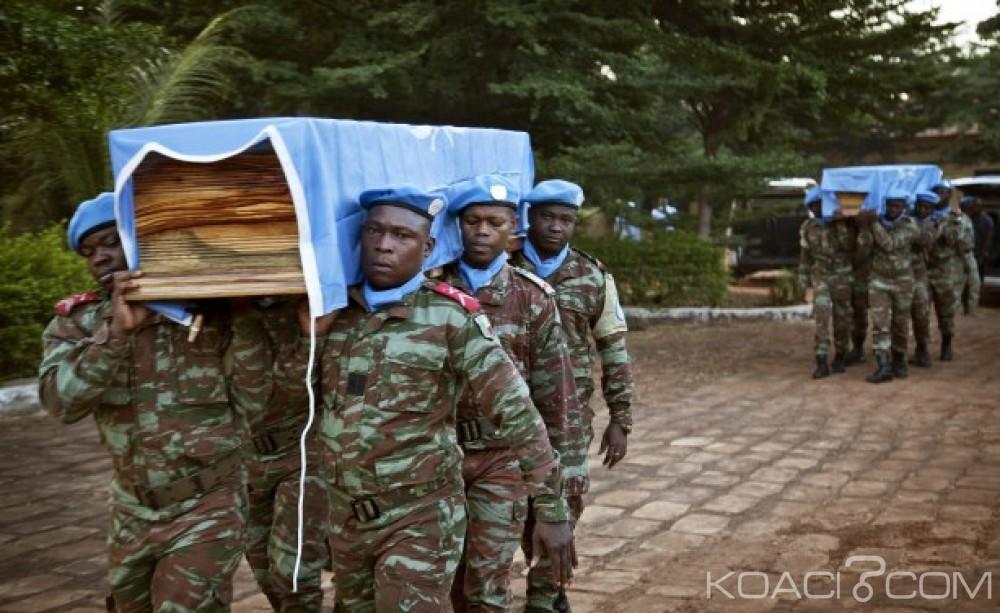 Mali: Gao, Un casque bleu nigérien meurt lors d'une nouvelle attaque terroriste