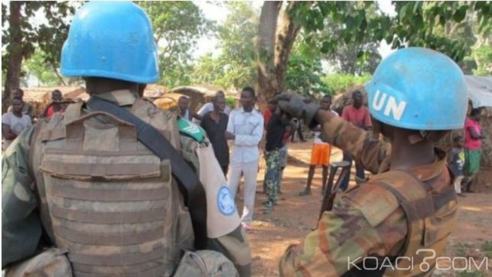 Centrafrique: Un casque bleu  tué et  huit blessés dans des affrontements à Bangui