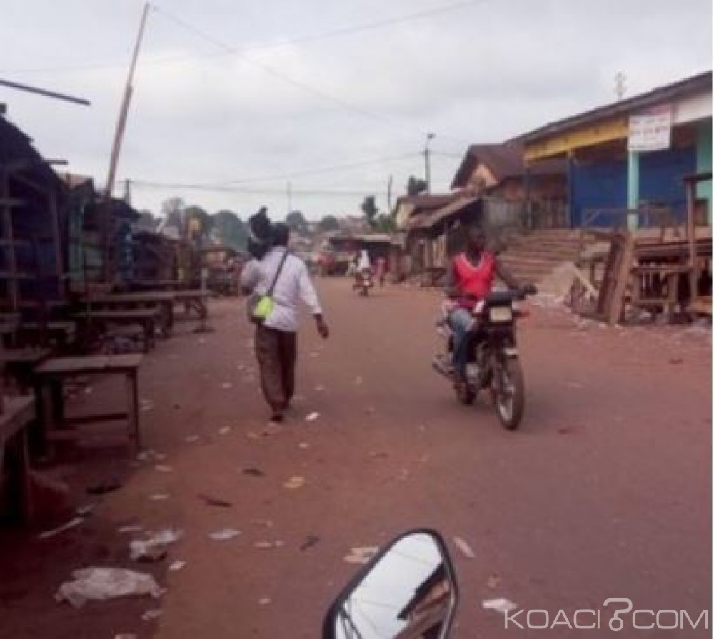 Côte d'Ivoire: Danané, les commerçants ferment aussi leurs magasins comme leurs homologues de Man