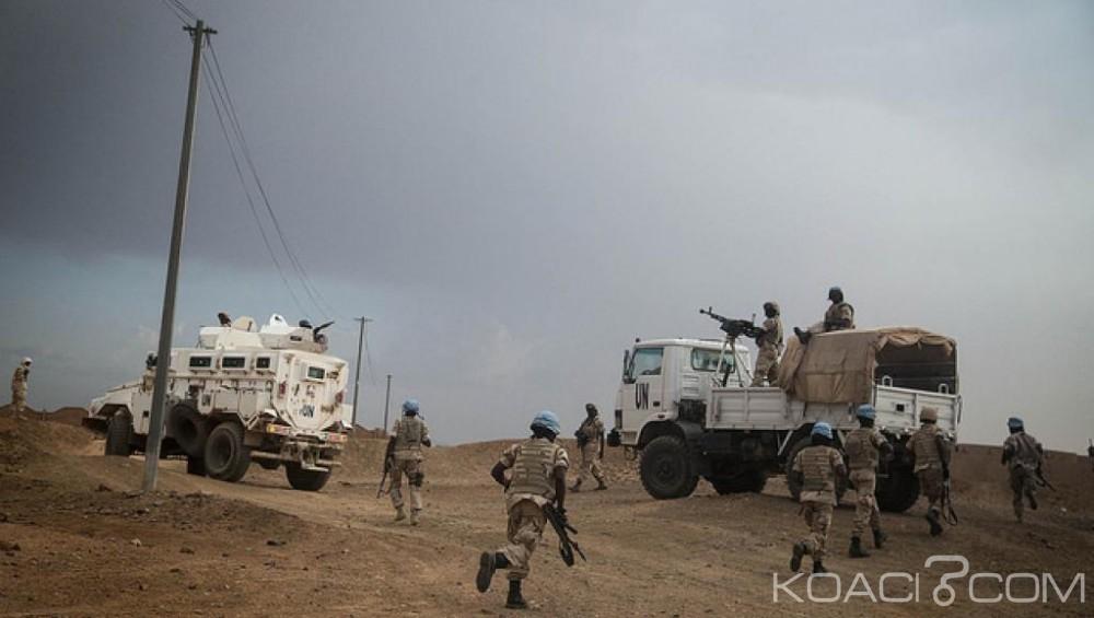 Mali: Attaque d' «envergure» contre la MINUSMA à Tombouctou, un casque bleu tué et une dizaine de blessés