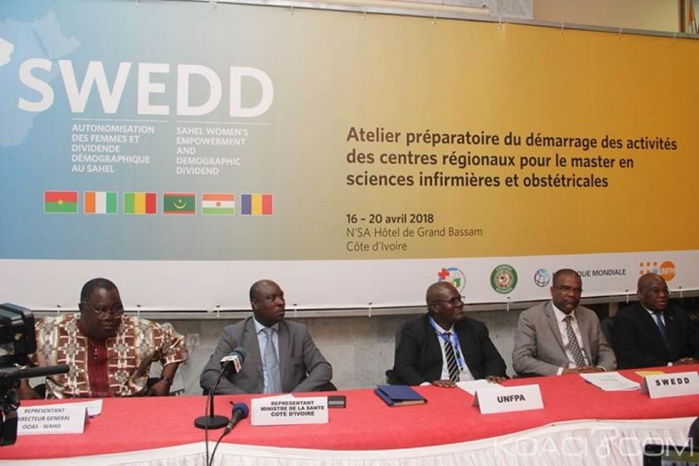 Côte d'Ivoire: Grand-Bassam abrite un atelier préparatoire du démarrage des activités des centres régionaux pour le master en sciences infirmières et obstétricales financé par la Banque mondia