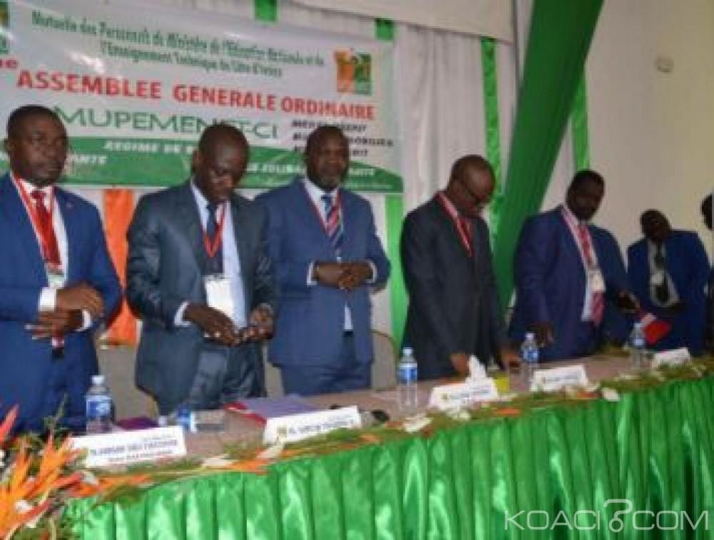 Côte d'Ivoire: Mutuelle des Personnels du Ministère de l'Education Nationale, les adhérents renouvellent leur confiance à l'équipe dirigeante