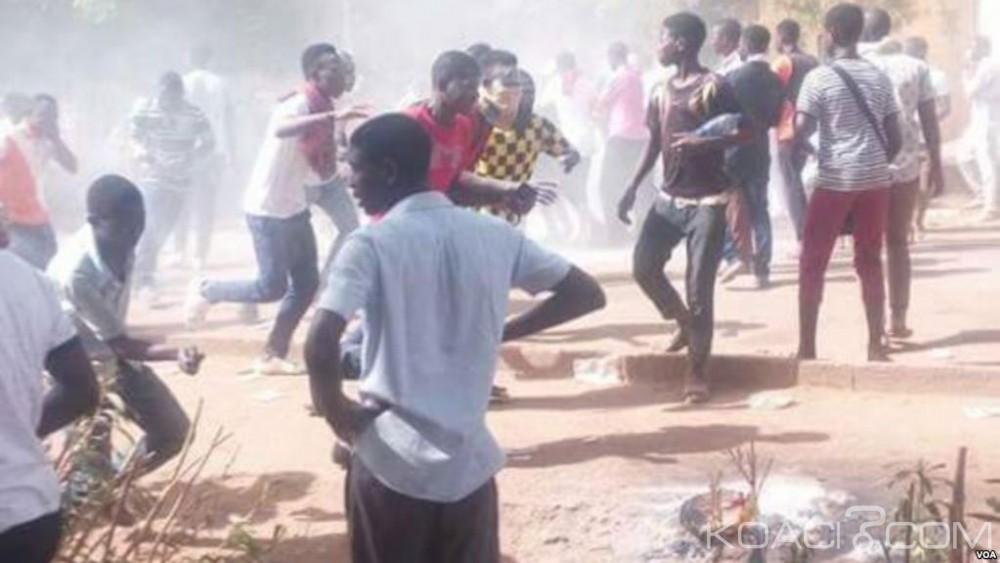 Niger:  Le campus de Niamey fermé après de violents heurts entre les étudiants et la police
