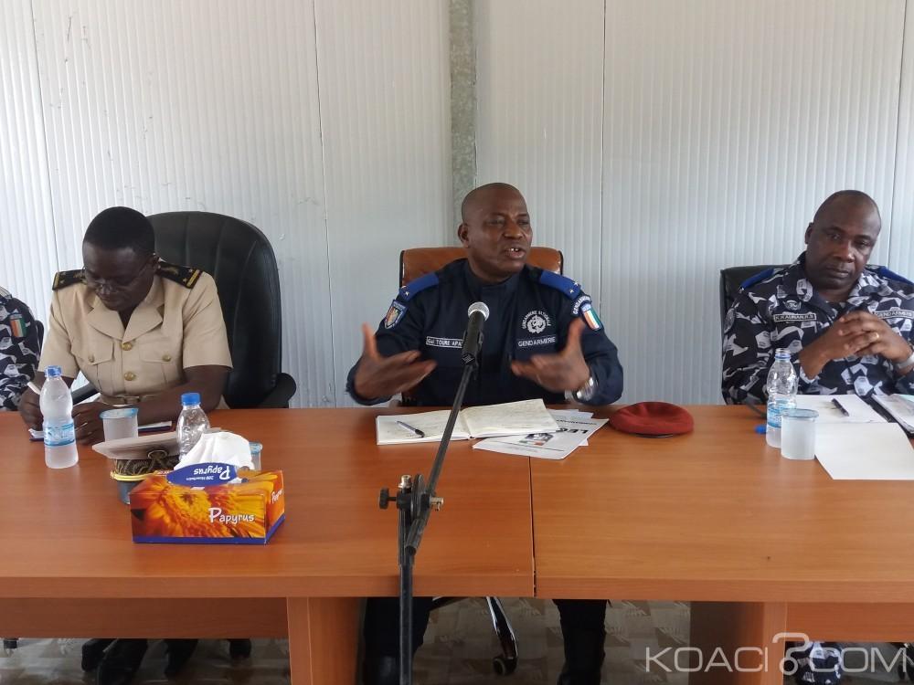 Côte d'Ivoire: Le Général Apalo Touré de la gendarmerie aux commerçants et transporteurs «Si vous cessez de donner, vous allez avoir des forces de l'ordre corrects»