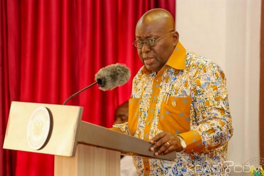 Ghana : Cadres et employés à la présidence, 998 personnes