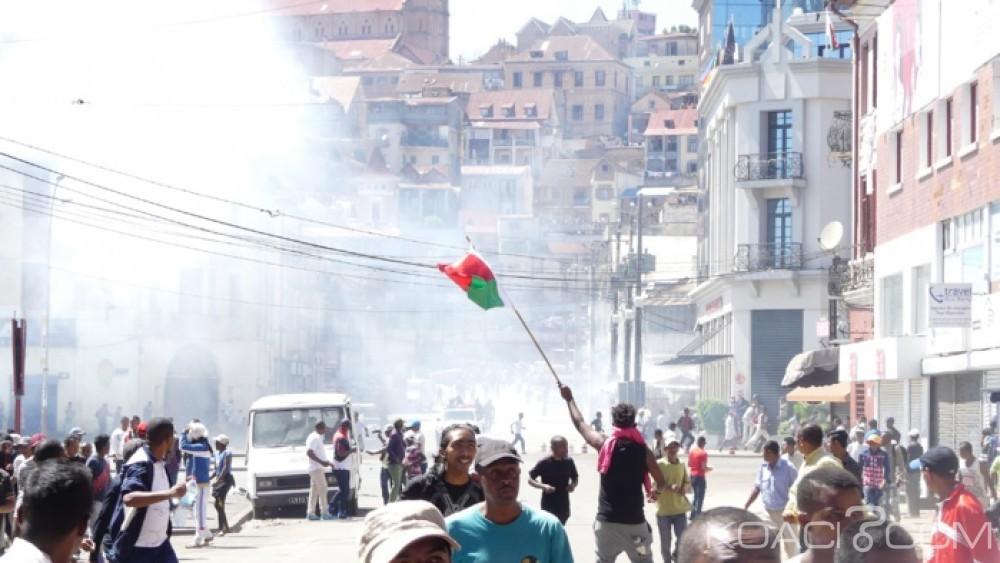 Madagascar: 4 morts dont deux enfants  lors d'une manifestation de l' opposition à Antananarivo
