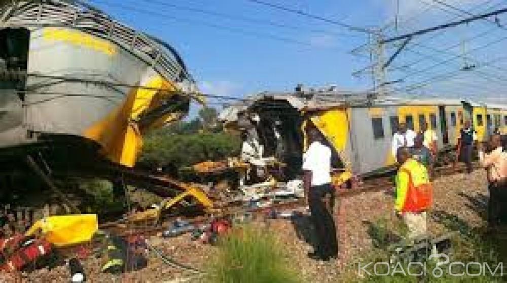 Afrique du Sud:  Un train percute un véhicule au cap, sept jeunes hommes tués