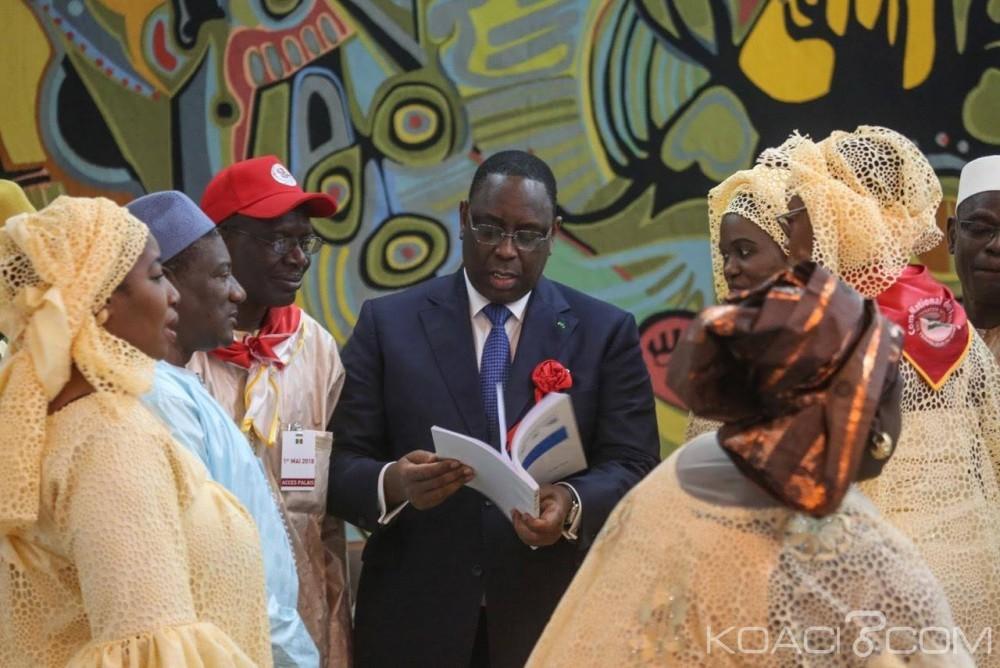 Sénégal: Célébration de la fête du 1er mai, Macky Sall expose «ses doléances» aux travailleurs