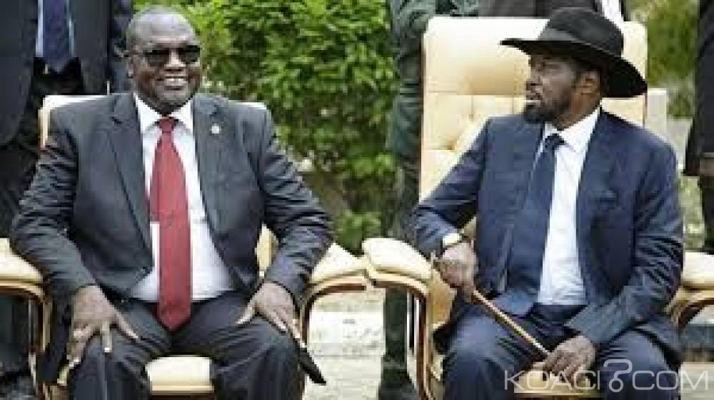 Soudan du Sud: Salva Kiir  appelle son rival Riek Machar à rentrer au pays