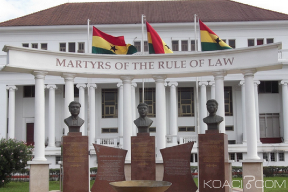 Ghana: Quatre juges de la Haute cour suspendus