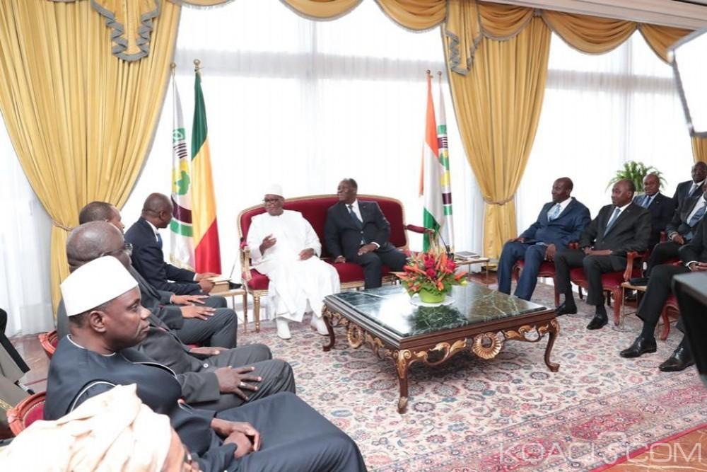 Côte d'Ivoire:  Abidjan, Ouattara annonce l'accroissement de la contribution ivoirienne à la MINUSMA et félicite les excellentes performances du Mali en matière économique et financière