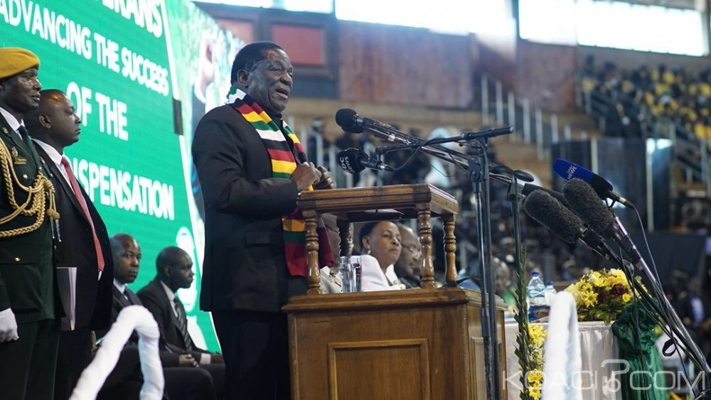 Zimbabwe: Présidentielle, Emmerson Mnangagwa  appelle  les anciens combattants à la rescousse