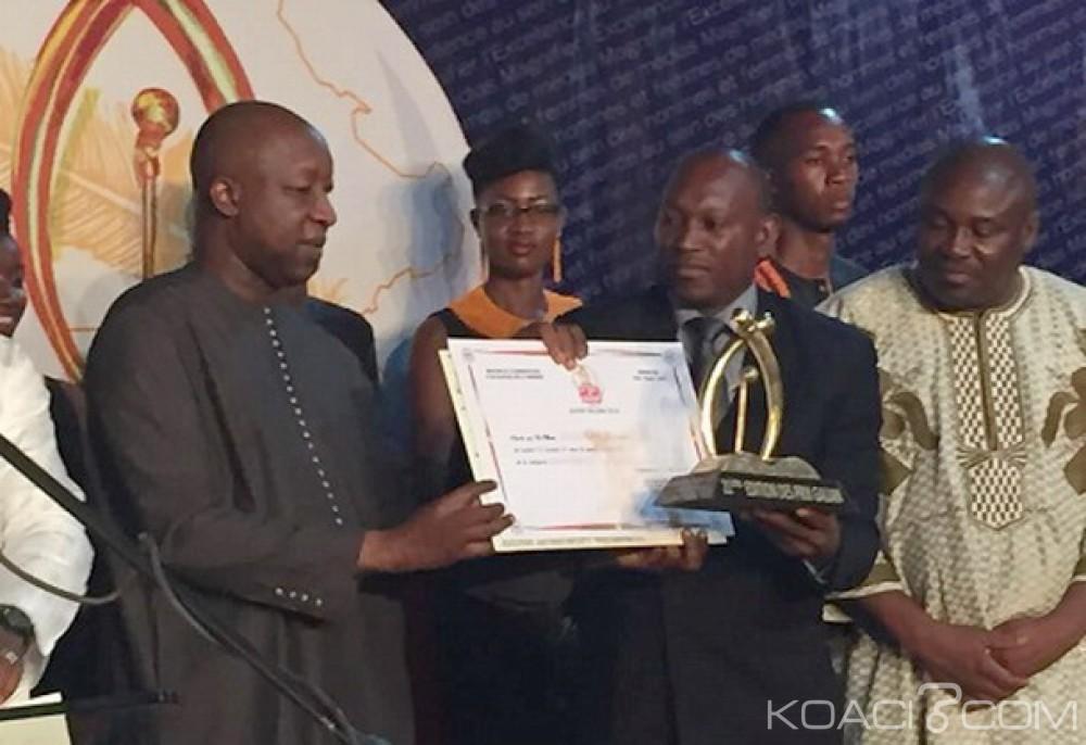 Burkina Faso: Dadadi Zoumbara, lauréat du Super Galian, trophée du meilleur journaliste