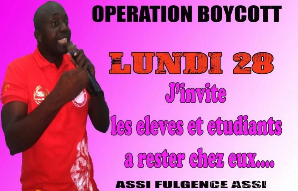Côte d'Ivoire: Universités, la FESCI va rejoindre les enseignants  et chercheurs à partir de lundi  dans la grève