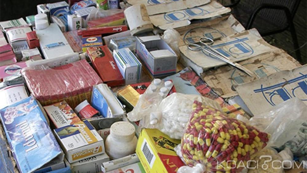Niger:  Saisie de  20 tonnes de faux médicaments en provenance du Ghana