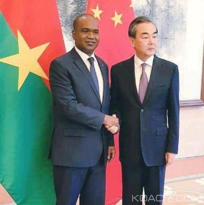 Burkina Faso : Reprise des relations entre Ouagadougou et Pékin