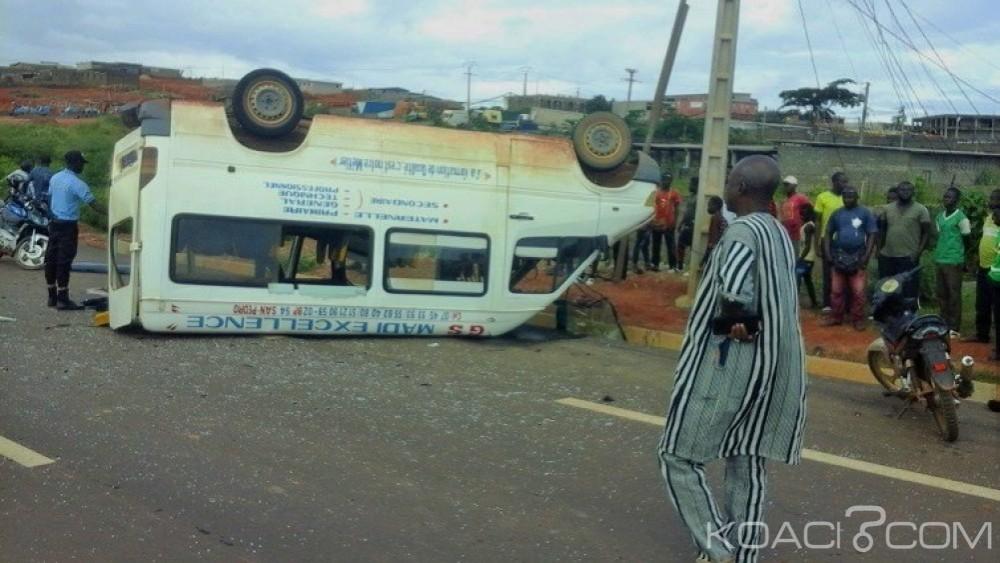 Côte d'Ivoire: San Pedro, des fidèles chrétiens victimes d'un grave accident de la circulation, deux morts enregistrés