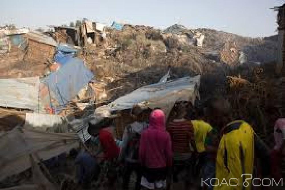 Ethiopie: Des glissements de terrains font au moins 32 morts