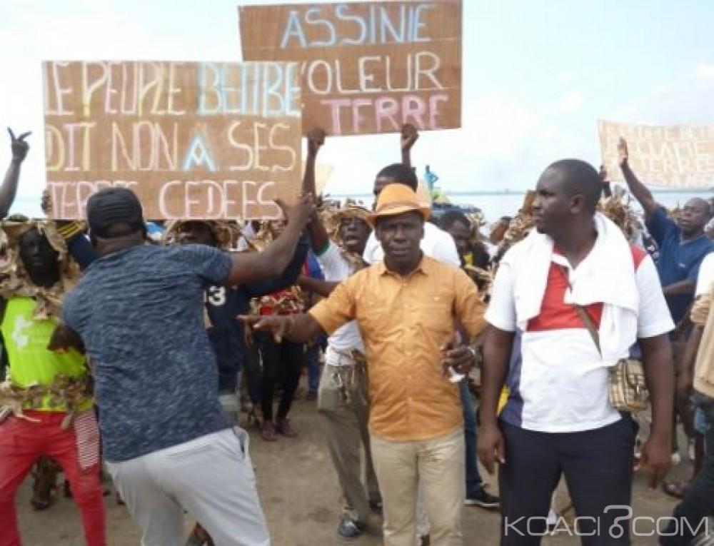 Côte d'Ivoire : Adiaké des jeunes refusent le rattachement de huit villages à la nouvelle commune d'Assinie-Mafia