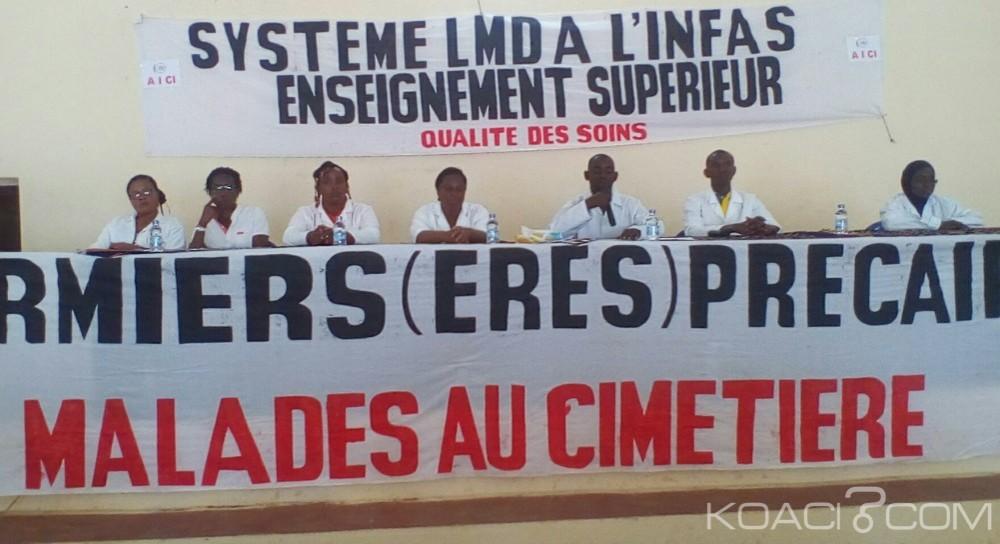 Côte d'Ivoire: Bouaké,  Ministère de la Santé, l'AICI plaide pour la reconnaissance de la licence des infirmiers