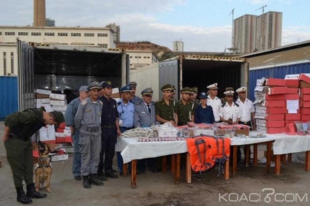 Liberia-Algérie: Un bateau battant pavillon libérien saisit avec 701 Kg de cocaïne