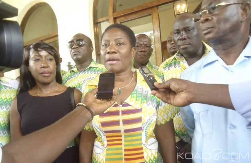 Côte d'Ivoire: Sans surprise, Henriette Lagou se rallie à la coalition au pouvoir, le RHDP