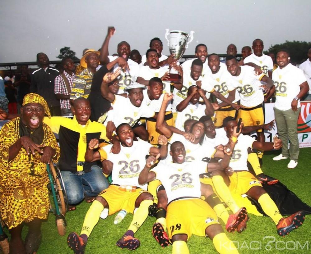 Côte d'Ivoire: Ligue 1, l'Asec Mimosas, le Sporting Gagnoa et FC San Pedro en Coupes africaines la saison prochaine