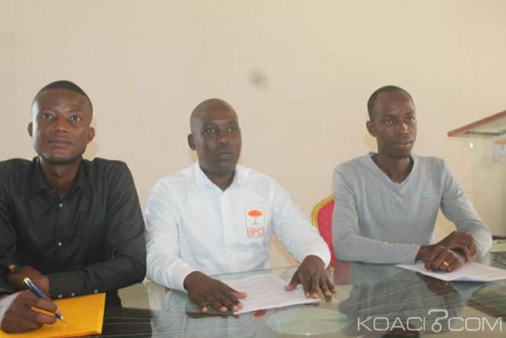 Côte d'Ivoire: UPCI, la jeune dénonce l'attitude de certaines personnes qui veulent diviser leur parti et font bloque autour Soro Brahima