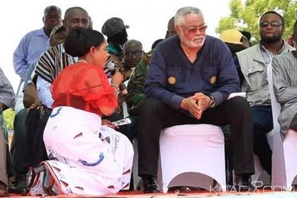 Ghana: Anita Desosoo prie Rawlings de pardonner au NDC