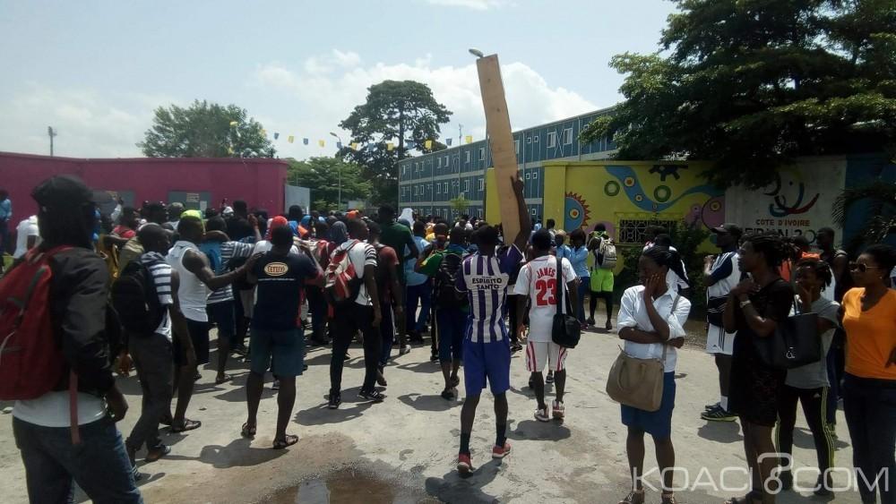 Côte d'Ivoire: Mort d'un étudiant à l'INJS, ses camarades manifestent et paralysent le 3ème pont HKB, 05 interpellés