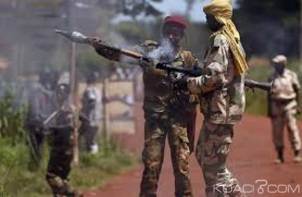 Centrafrique: Affrontements à l'arme lourde  près d'un hôpital  à Bambari
