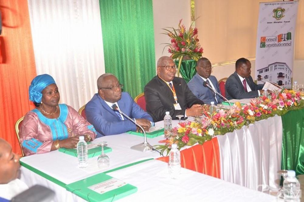 Côte d'Ivoire: L'article 135 de la Constitution au cœur des débats entre magistrats, greffiers et avocats