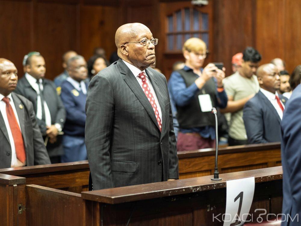 Afrique du Sud: Le procès pour corruption de Zuma repoussé  au 27 Juillet