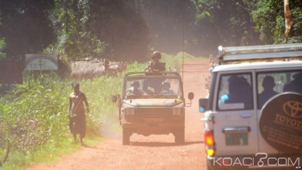 Centrafrique: Bambari, un casque bleu burundais tué dans des échanges de tirs