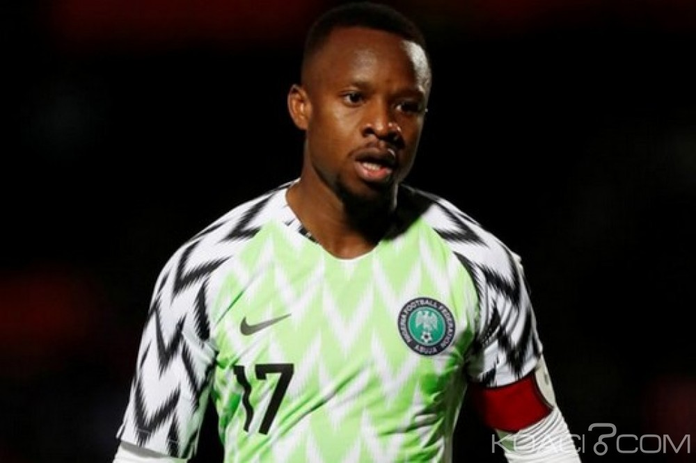 Nigeria: A quelques jours de l'ouverture du mondial, le titre de capitaine-adjoint des super eagles retiré à Onazi