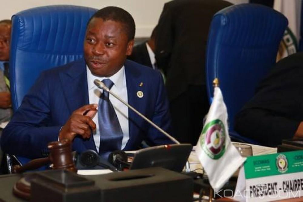 Togo: Présidence de la CEDEAO, pas de tractations d'un second mandat pour Faure Gnassingbé