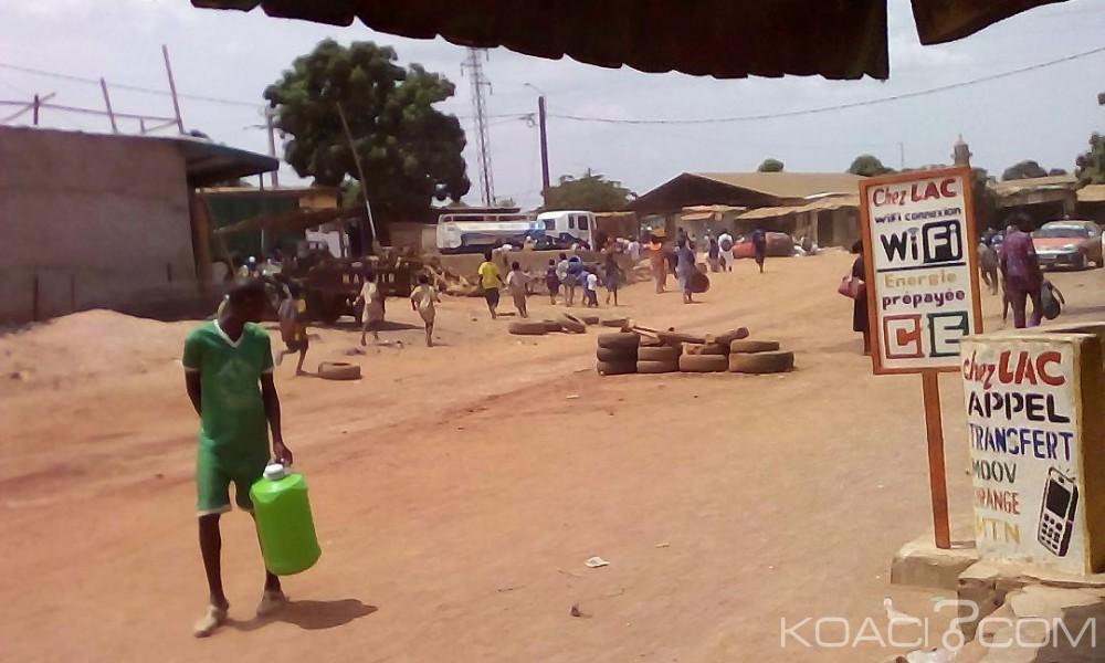 Côte d'Ivoire: Bouaké, pour avoir été bousculé par la bassine d'une femme, le distributeur d'eau de l'ONEP se fà¢che et interrompt la distribution
