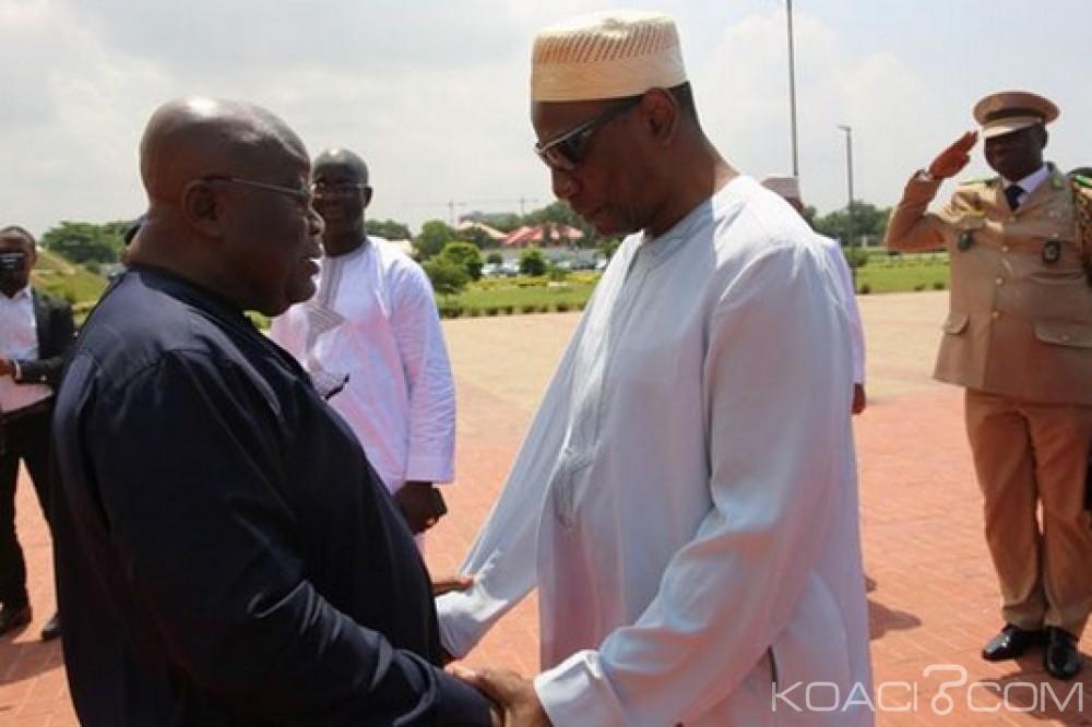 Togo: Rencontre entre Akufo-Addo et Condé à Accra pour une solutions à la crise