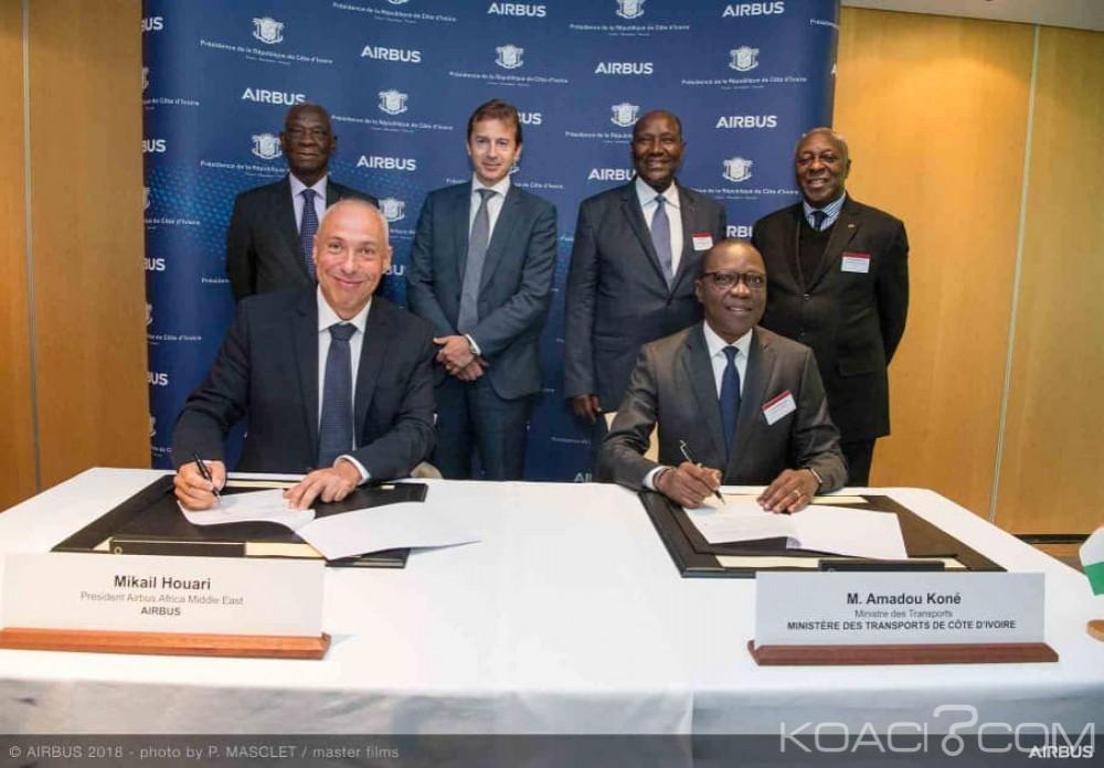 Côte d'Ivoire: Le gouvernement conclut avec Airbus un partenariat pour le développement de l'industrie aéronautique et spatiale au pays