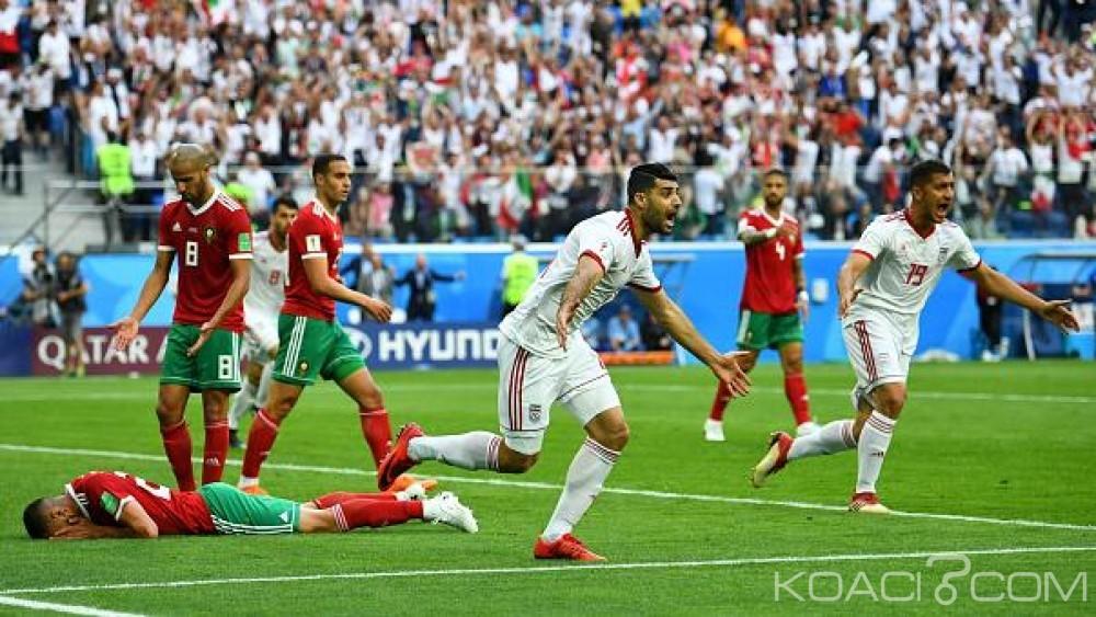Maroc:  Mondial 2018, le Maroc s'incline face à l'Iran à la dernière minute (0-1)