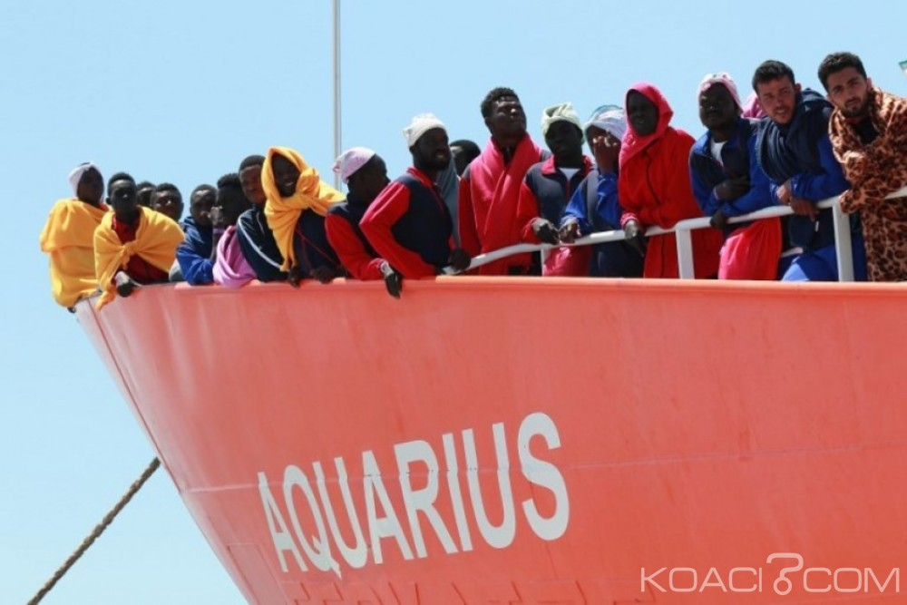 Afrique: Deux bateaux chargés de migrants interdits d'accès en Italie