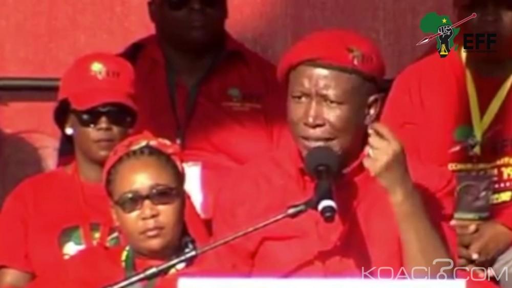 Afrique du sud: Malema traite les indiens de racistes et se prend la foudre des politiquement correct