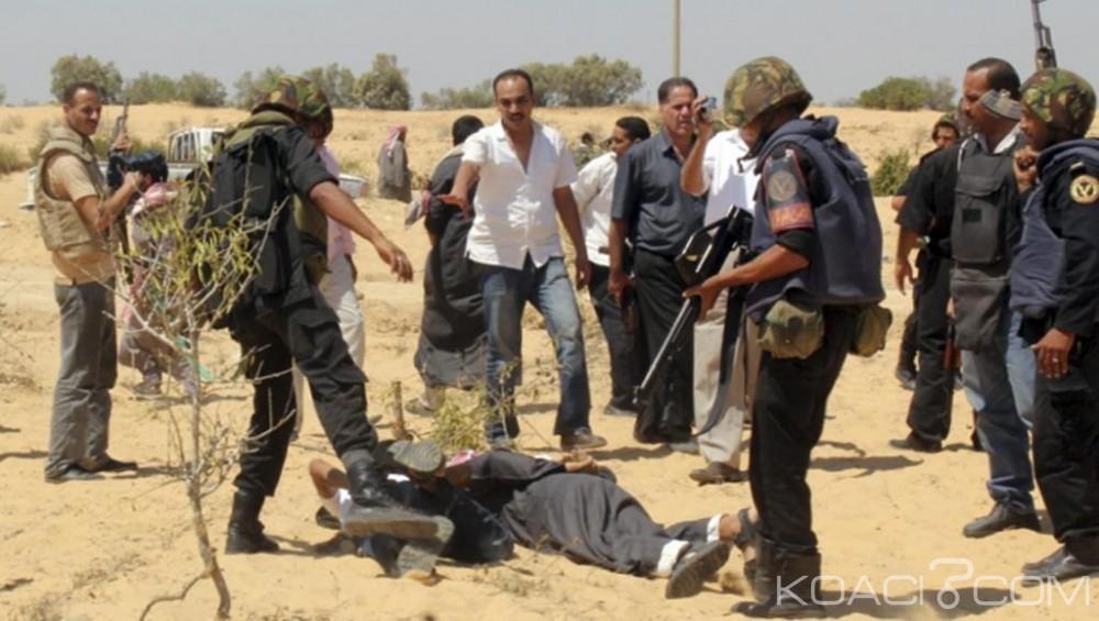 Egypte: 32  terroristes tués par l'armée dans le Sinaï, des armes saisies