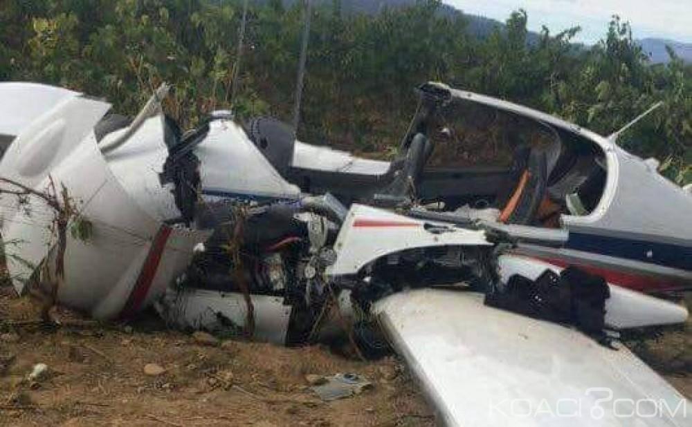 Guinée: Un avion s'écrase à Souguéta avec quatre personnes à bord