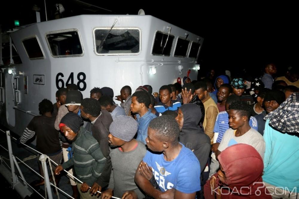 Libye: Près de 1000 migrants  dont 44 enfants sauvés en 24h ,  Arrivée du premier Ministre italien