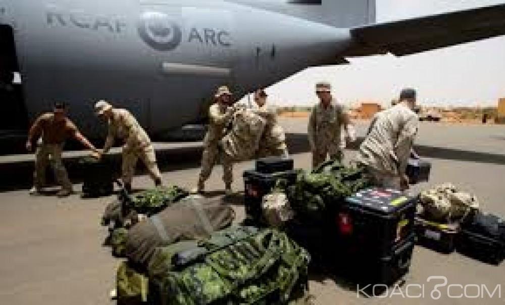 Mali: Minusma, arrivée des premiers  casques bleus canadiens